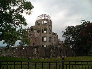 原爆ドーム。