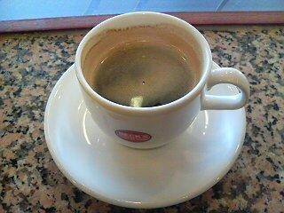 朝カフェ。