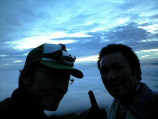 富士登山も1年前。