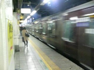 チョコ電車。